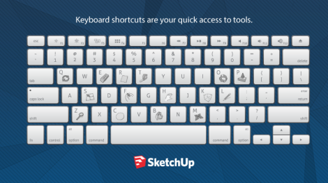SketchUp-Keyboard-shorcut