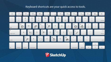 SketchUp-Keyboard-shorcut