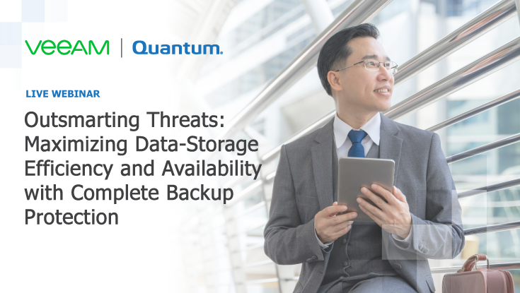 Veeam and Quantum Complete Backup and Long term data protection