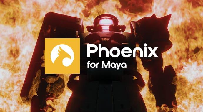 Chaos Phoenix for Maya