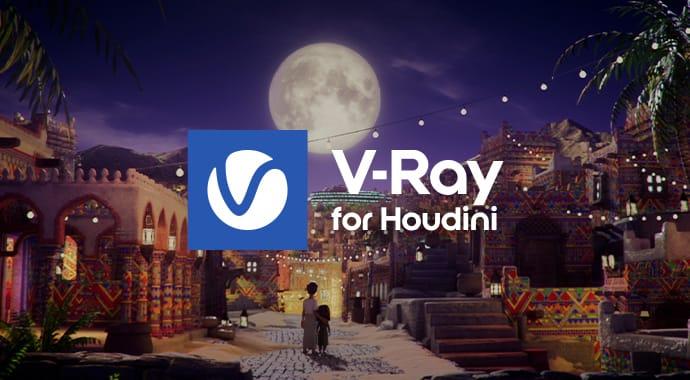 Vray for Houdini