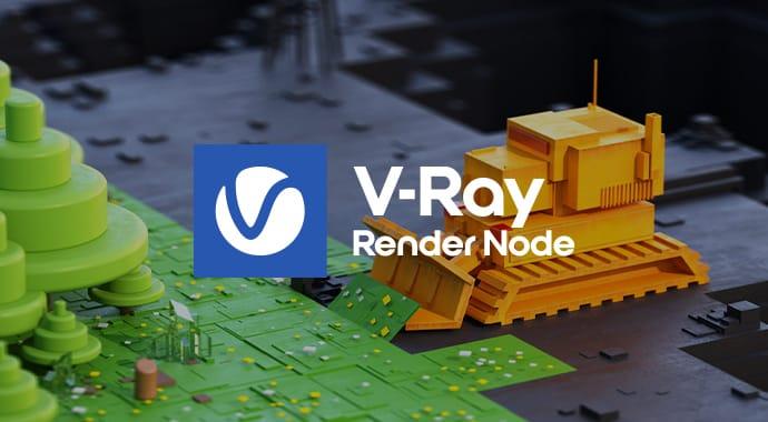 Vray for Render Node