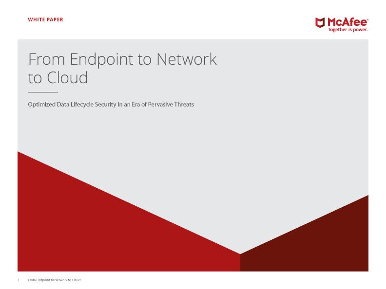 Endpoint Network Cloud Pervasive Threats