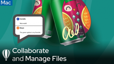 Collaborate and Manage Files Mac