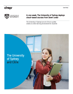 Citrix-University-of-Sydney